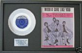 "TROGGS -7""Platinum Disc&songsheet -WITH A GIRL LIKE YOU"